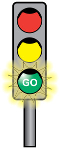 stop and go light