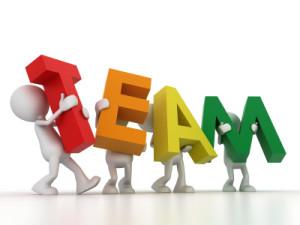 4 team members