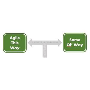 Agile sign